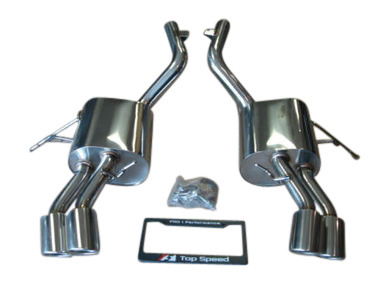 Maserati Quattroporte 4.2L & 4.7L M139 Sedan 04-13 Performance Exhaust Systems