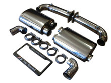 Porsche 997.1 Turbo Twin Turbo 07-09 Top Speed Pro-1 Exhaust Systems