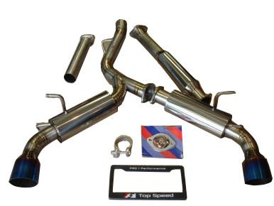 Scion FRS Subaru BRZ Toyota GT86 13-19 TOP SPEED PRO-1 Titanium Exhaust  System