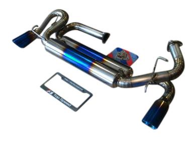 Acura NSX 91-96 TOP SPEED PRO-1 100% Full Titanium Exhaust Dual 89mm Tips
