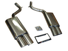 Mercedes Benz W216 CL500 CL550 CL600 W221 S500 S550 S600 07-10 T304 Axle Back Exhaust Systems