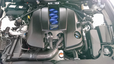 Lexus RCF RC-F V8 15-18 Carbon Fiber Intake Pipe Upgrade use with stock Air Box
