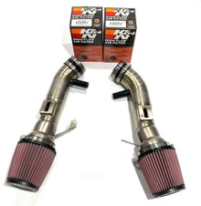 Top Speed Pro-1 TITANIUM Air Intake System + K&N Filters Q50 Q50S Sedan 14-16