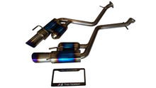 Lexus IS200T IS250 IS300 IS350 14-18 Top Speed Full Titanium Axle-Back Exhaust System