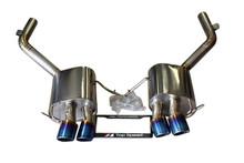 Maserati Gran Turismo 07-15 Titanium Axle-Back Performance Exhaust Systems