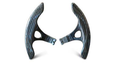 Fits Infiniti Q60 14-16 Extended Length Upgrade Carbon Fiber Paddle Shifter Kit