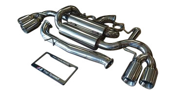 Audi TTS 09-13 Top Speed Pro-1 Street Spec Exhaust System + 102mm Polished Tip