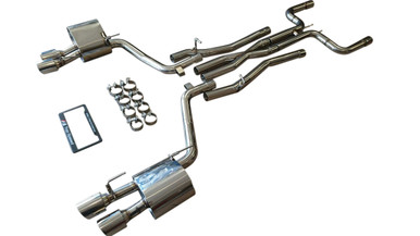 Maserati Ghibli 3.0L V6 Turbo Sedan 14-18 Performance Catback Exhaust System