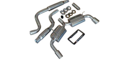 VW Golf MK7 GTi 2.0T 15-18 Top Speed Pro-1 Cat Back Exhaust Systems 76mm