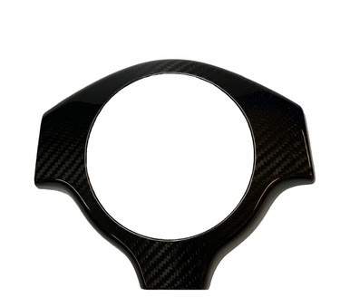 Fit All Lamborghini Murcielago 01-10 Carbon Fiber Steering Wheel Center Cover