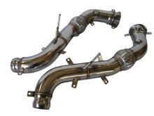"McLaren 570S 570GT 570C 600LT 16-19 3.5"" Straight Turbo Down Pipes"