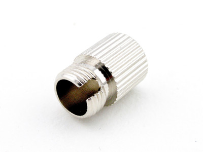 FC Connector Dust Cap, Nickel plated Brass