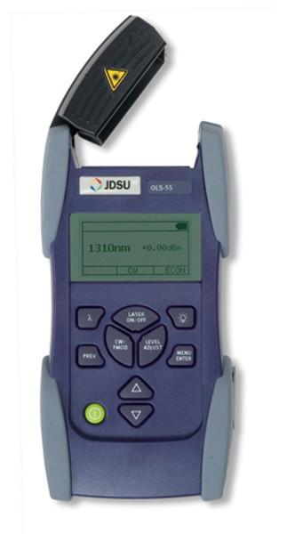 JDSU OLS-55 SmartClass Laser Light Source, SC, 1310/1550/1625