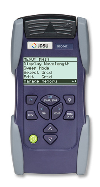 JDSU OCC-56C DWDM Dense Wavelength Channel Checker SC