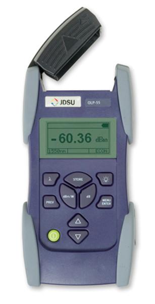 JDSU OLP-55 Fiber Optic SmartClass High-Sensitivity Power Meter