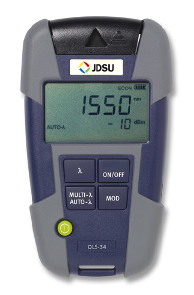 OLS-34 JDSU Fiber Optic Multimode LED Light Source, FC