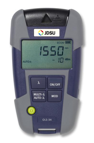 OLS-35 JDSU 2303/11 SM Laser Light Source - Changeable Adapter