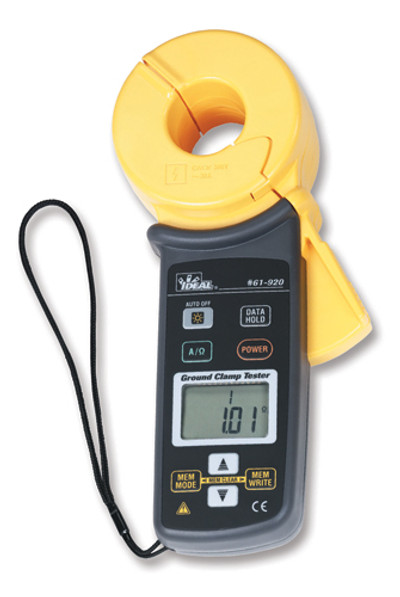 Ideal 61-920 Ground Resistance Tester - Clamp Meter