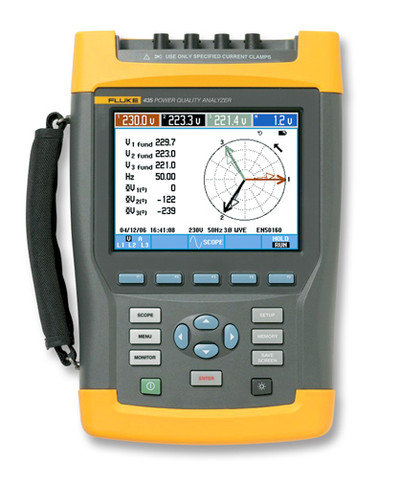 Fluke 435-II/BASIC Three-Phase Power Quality & Energy Analyzer