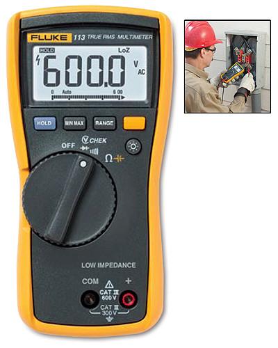 Fluke 113 True RMS Digital Multimeter
