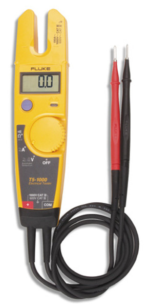 Fluke T5-1000 Voltage, Continuity and Current Electrical Tester