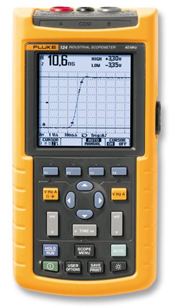 Fluke 124/003S Scopemeter 40MHz Oscilloscope Kit