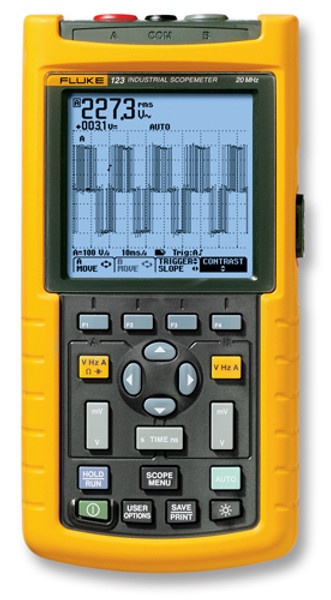 Fluke 123/003S Scopemeter 20MHz Oscilloscope Kit - Calibrated