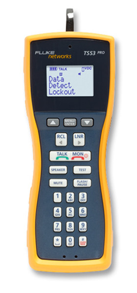 Fluke Networks TS53-A-09 Test Set w/ABN and Piercing Pin Cord