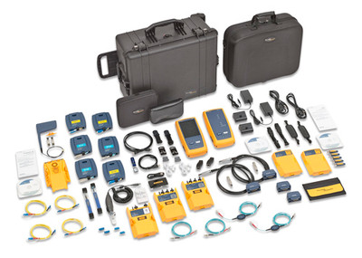 Fluke Networks DSX-5000NTB DSX w/ QUAD OTDR & OneTouch AT 3000