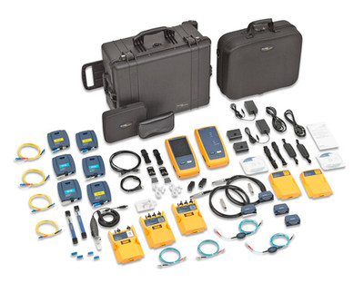 Fluke Networks DSX-5000QOi DSX w/ QUAD OTDR & Fiber Inspection
