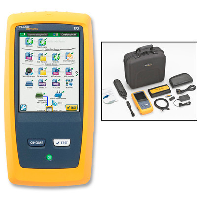 Fluke Networks 1T-1000 OneTouch AT Network Test Copper/Fiber LAN