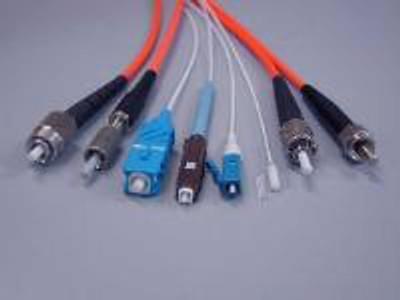 MM Large Core Fiber Patch Cord and Assemblies 400/440 Micron 22A - Aqua