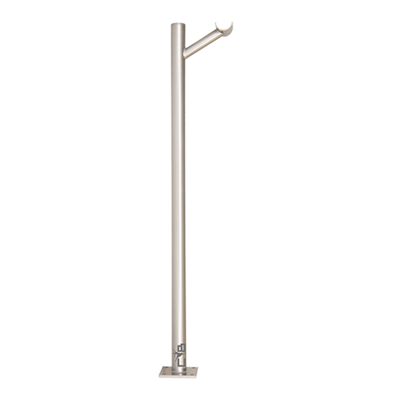 Frappe-Single Floor Mount Barre Bracket