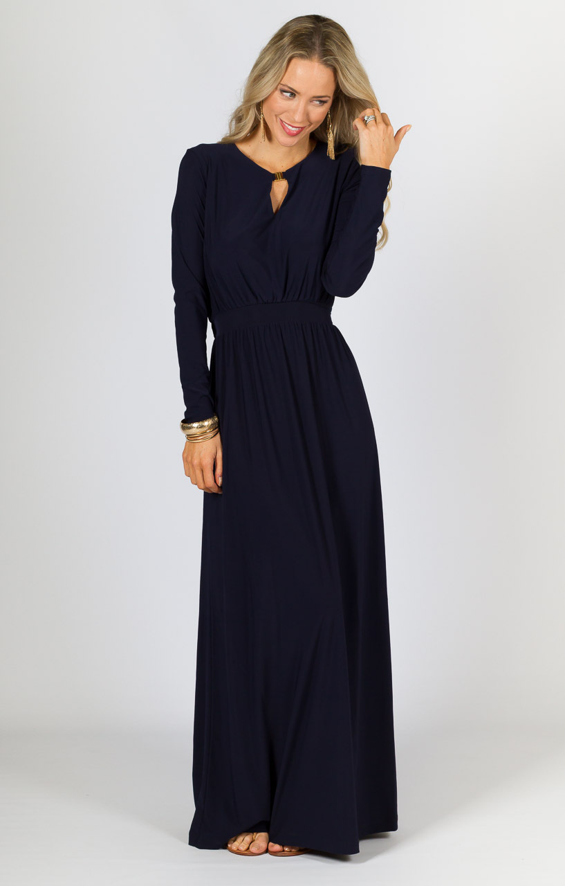 Work A Winter Maxi Maxi Dress Trends For Cooler Weather