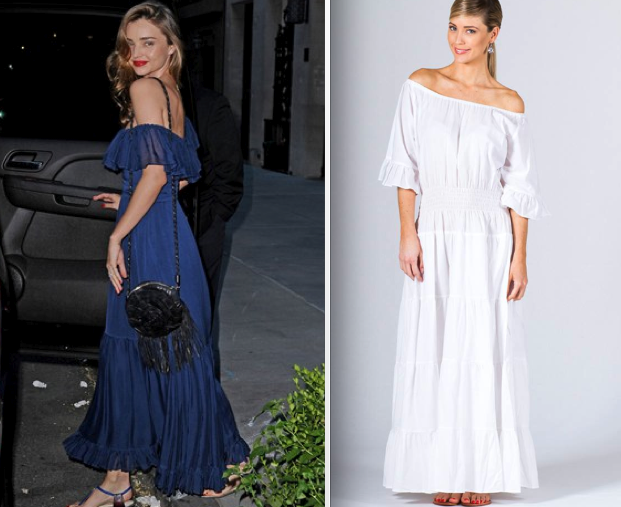 Celebrity Maxi Dresses You Can Afford - P.S. Frocks