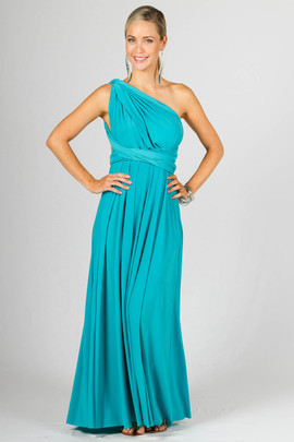 Multi Way Wrap Maxi - Aqua