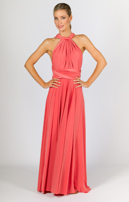 Multi Way Wrap Maxi - Watermelon