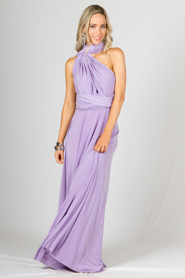Multi Way Wrap Maxi  Lilac