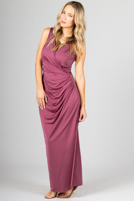Lauren Maxi Dress - Blush