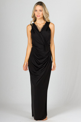 Lauren Maxi Dress - Black
