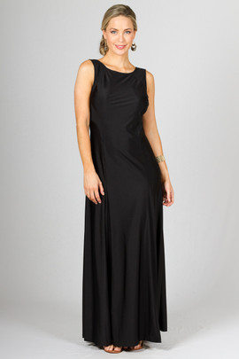 Madison Maxi Dress - Black