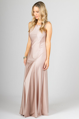 Madison Maxi Dress - Champagne