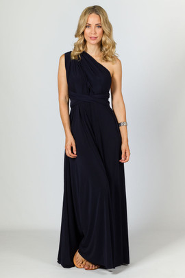 Multi Way Wrap Maxi - Navy