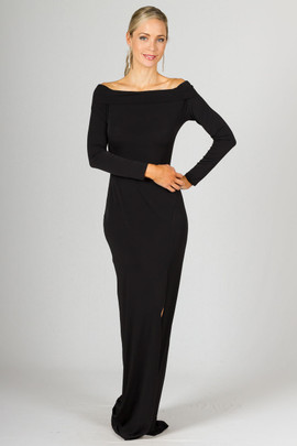Marlene Maxi Dress - Black