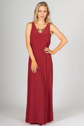 Eden Maxi Dress - Pomegranate