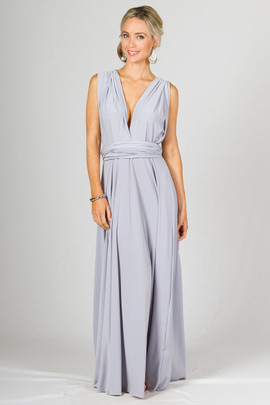 Multi Way Wrap Maxi - Ash
