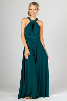 Multi Way Wrap Maxi - Emerald