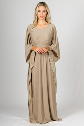 Luna Maxi Dress - Latte