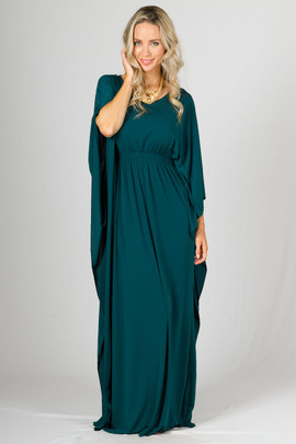 Luna Maxi Dress - Emerald