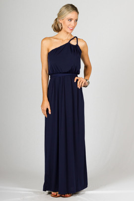 Asta Maxi Dress - Navy